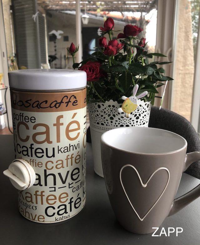 1000 g Wollenhaupt 46936 Kaffeedose aus Edelstahl